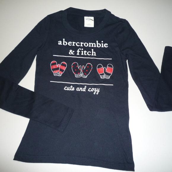 abercrombie kids Other - Abercrombie Kids LS Black T-Shirt, sz S